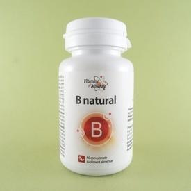 B natural DACIA PLANT (60 de comprimate)