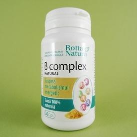 B Complex natural ROTTA NATURA (30 de capsule)