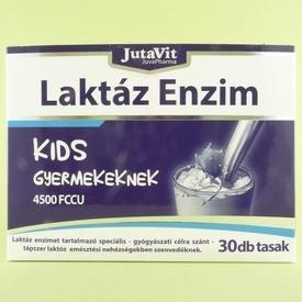 Enzima lactaza pentru copii 4500 FCCU   JUTAVIT (30 de plicuri)