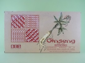 Lotiune gingseng pentru par BES (12 fiole x 10 ml)