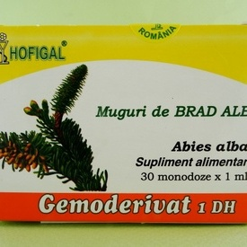 Muguri de brad alb - gemoderivat HOFIGAL (30 de monodoze x 1 ml)