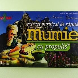 Mumie cu propolis (60 de tablete)