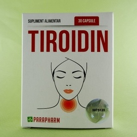 Tiroidin PARAPHARM (30 de capsule)