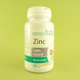 Zinc natural  ROTTA NATURA (30 de capsule)