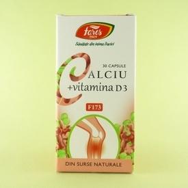 Calciu + Vitamina D3 FARES (30 de capsule)