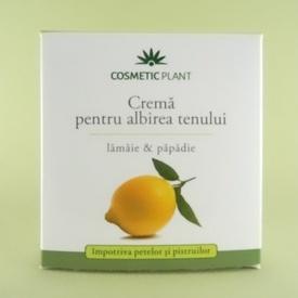 Crema pentru albirea tenului COSMETIC PLANT (50 ml)