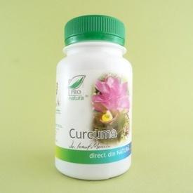 Curcuma  PRO NATURA (60 de capsule)