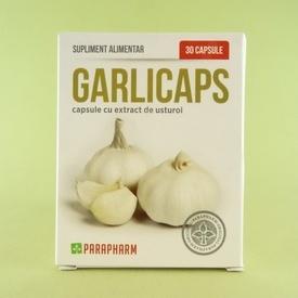 Garlicaps capsule cu extract de usturoi  PARAPHARM (30 de capsule)