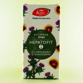 Hepatofit 2 FARES (63 de capsule)