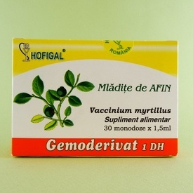 Mladite de afin - gemoderivat  HOFIGAL (30 de monodoze x 1,5 ml)