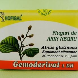 Muguri de arin negru - gemoderivat HOFIGAL (30 de monodoze x 1,5 ml)