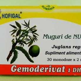 Muguri de nuc - gemoderivat HOFIGAL (30 de monodoze x 2 ml)