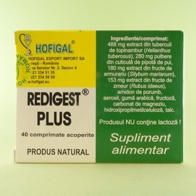 Redigest Plus HOFIGAL (40 de comprimate)