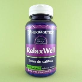 Relax Well HERBAGETICA (60 de capsule)