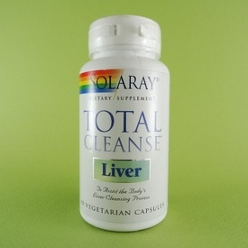 Total Cleanse Liver SOLARAY (60 de capsule)
