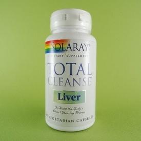 Total Cleanse Liver SOLARAY (60 de capsule)