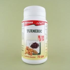 Turmeric FAVISAN (70 de capsule)