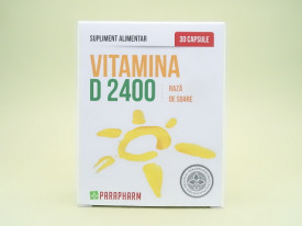 Vitamina D 2400 Raza de soare PARAPHARM (30 capsule)