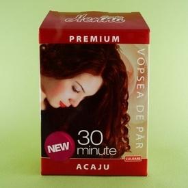 Vopsea de par Premium acaju  SONIA HENNA (60 g)