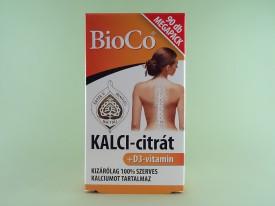 Calciu citrat + vitamina D3    BIOCO  MAGYARORSZAG Kft. (90 de tablete)