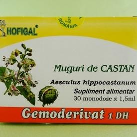Muguri de castan - gemoderivat HOFIGAL (30 de monodoze x 1,5 ml)
