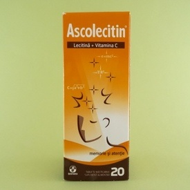 Ascolecitin (20 de tablete masticabile)