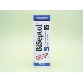 Biseptol spray cu argint coloidal DACIA PLANT (20 ml)