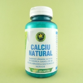 Calciu natural  (60 de capsule)