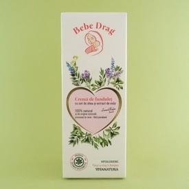 Crema de fundulet cu unt de shea și extract de ovaz         Bebe Drag   (75 ml)