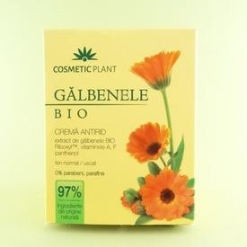 Galbenele Bio Crema antirid de zi COSMETIC PLANT (50 ml)