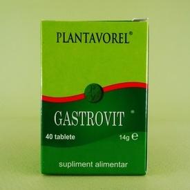 Gastrovit  PLANTAVOREL (40 de tablete)