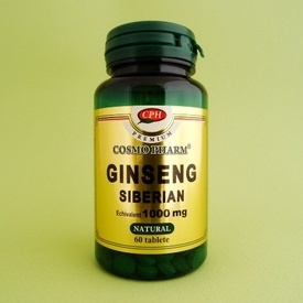 Ginseng siberian 1000 mg (60 tablete)