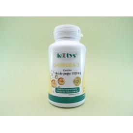 Q-Omega 3 Ulei de peste 1000 mg KOTYS (60 capsule moi)