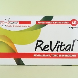 ReVital FARMACLASS (40 de capsule)
