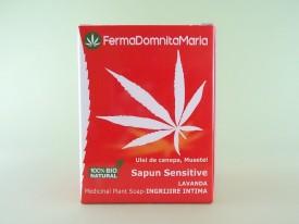 Sapun Sensitive Lavanda Ingrijire Intima FERMA DOMNITA MARIA (100 g)