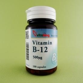 Vitamina B12 500 μg VITAKING (100 de capsule)