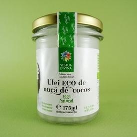 Ulei eco din nuca de cocos STEAUA DIVINA (175 ml)