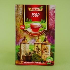 Ceai isop ADNATURA (50 g)