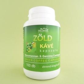 Cafea verde capsule VITA CRYSTAL (100 de capsule)