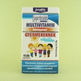 Multivitamine masticabile pentru copii JutaVit (45 de tablete masticabile)