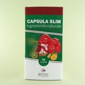 Capsula SLIM BRITISH PHARMA (30 de capsule)