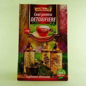 Ceai pentru detoxifiere  ADNATURA (50 g)