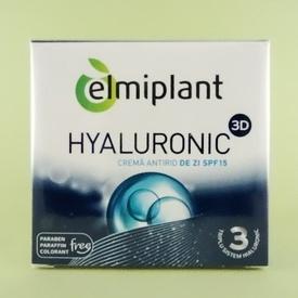 Crema antirid de zi Hyaluronic 3D SPF15 ELMIPLANT (50 ml)
