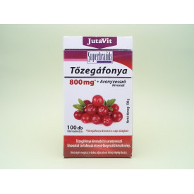Extract de merisor american 800 mg + extract de splinuta JutaVit JUVAPHARMA Kft. (100 tablete filmate)(