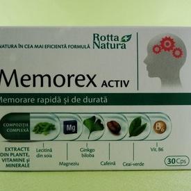 Memorex Activ ROTTA NATURA (30 de capsule)