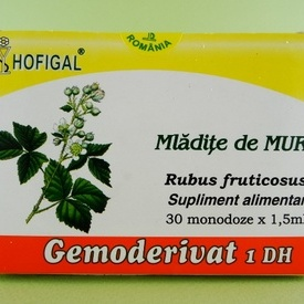 Mladite de mur - gemoderivat HOFIGAL (30 de monodoze x 1,5 ml)