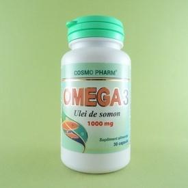 Omega 3 Ulei de somon 1000 mg COSMO PHARM (30 capsule)