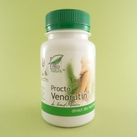 Procto Venorutin PRO NATURA (60 de capsule)