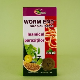 Sirop Worm End  STAR INTERNATIONAL MED (100 ml)