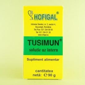 Tusimun soluție uz intern  HOFIGAL (90 g)